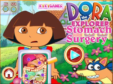 Dora The Explorer Online Games Dora Stomach Surgery YouTube