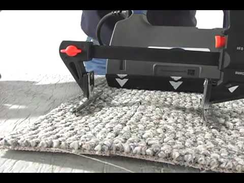 Carpet Badger Glue Down Carpet Puller Take Up Machine