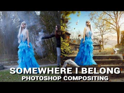 Somewhere I belong  | PHOTOSHOP MANIPULATION