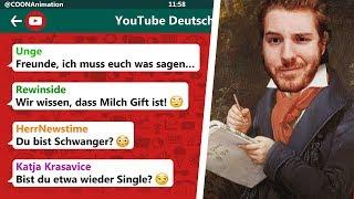 Die WAHRHEIT über UNGE! 😱😂 | YouTuber in einer WhatsApp Gruppe