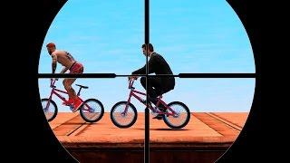 ЖИВАЯ МИШЕНЬ ДЛЯ СНАЙПЕРОВ! (GTA 5 Смешные Моменты)