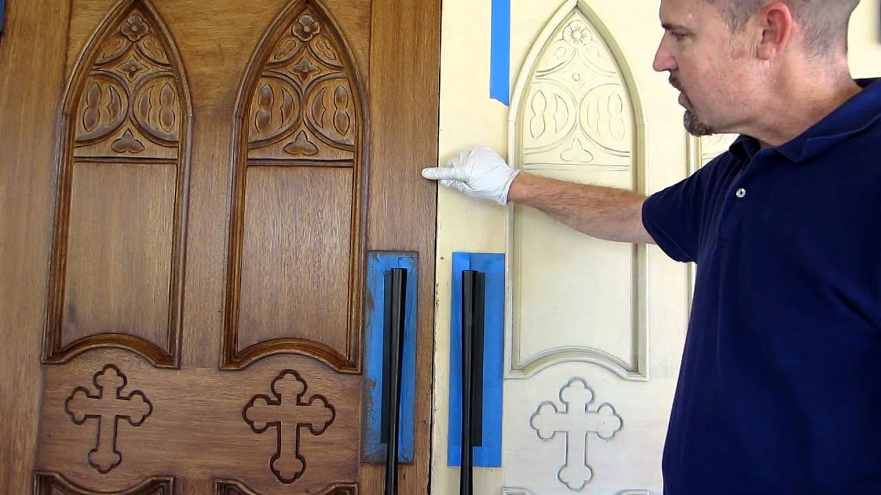 Church Exterior Doors Get Makeover Youtube
