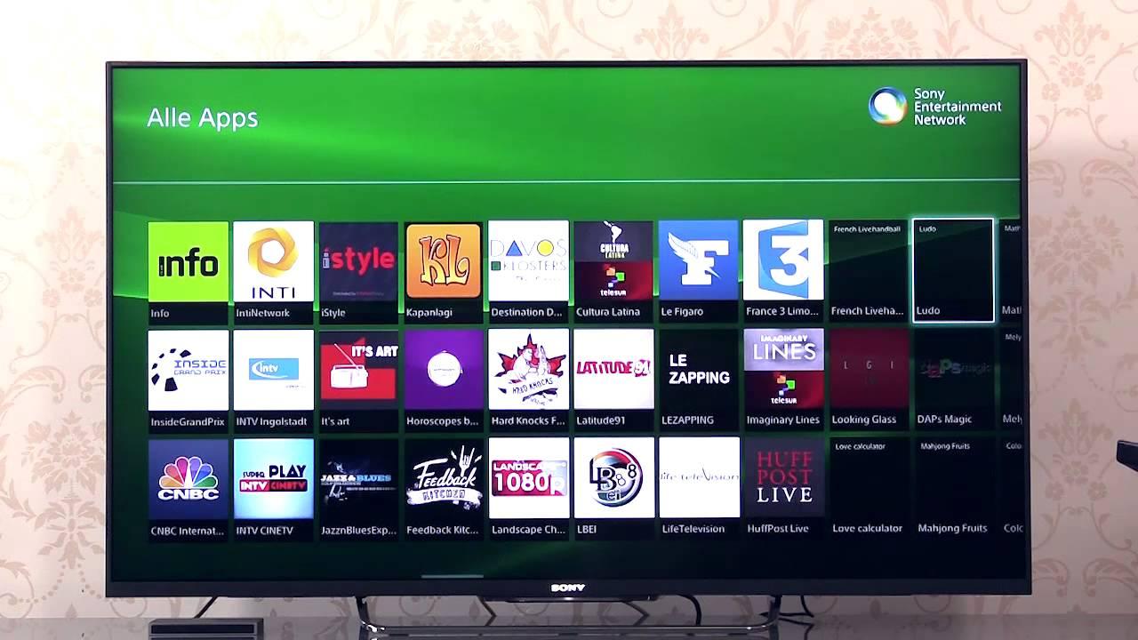 Sony Tv Mediathek Einrichten