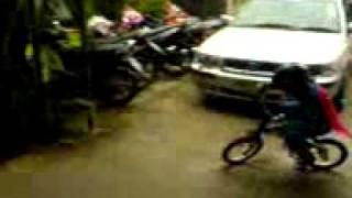 BMW kids bike(When Nano was 4 years old ^___^ in 2006., 2011-08-18T21:33:25.000Z)
