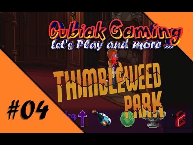 HOBBYTHEK - WIR STELLEN TINTE HER ★ Let's Play Thimbleweed Park #04