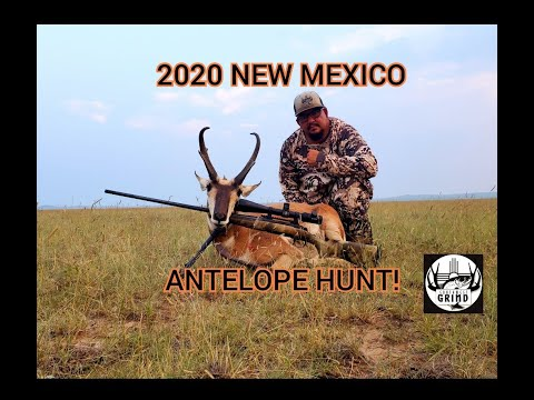 2020 NEW MEXICO ANTELOPE HUNT