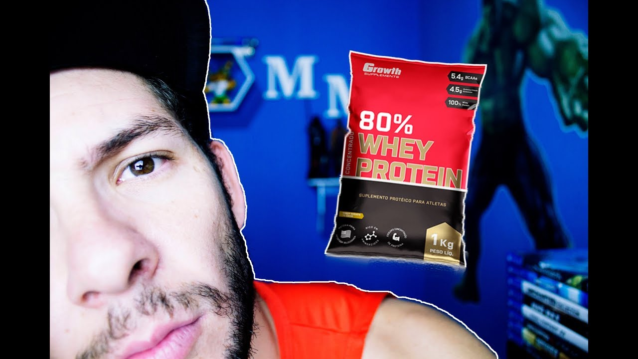 87186c9fe A VERDADE SOBRE WHEY 80% GROWTH! (WHEY PROTEIN CONCENTRADO) - YouTube