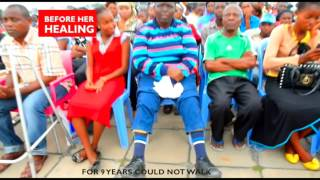 Tremendous Healings in Kinshasa, DR Congo - Prophet Dr. Owuor