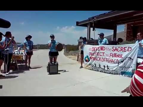 6 - #FrackOffChaco Indigenous Youth Run Fracking New Mexico