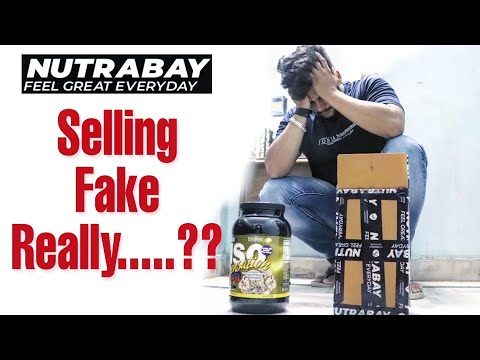 Nutrabay Selling Fake Supplements ...?? Unboxing iso sensation