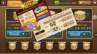 Event TerGGWP Get Rich Ever - Obral Jackpot Draw Legend Cube Get Rich Taiwan