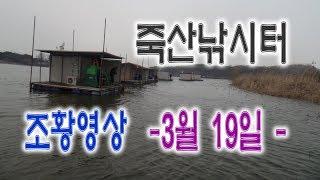 죽산낚시터 주간 조황 종합영상 - 3월 20일 -