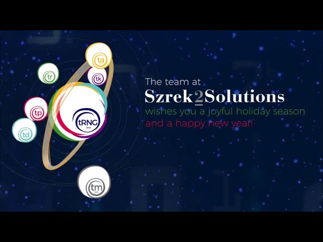Szrek2Solutions best wishes