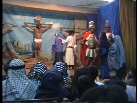 La Crucificción - SEMANA SANTA actuación del Ministerio de Drama del CSMP. 2009