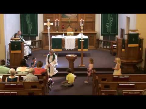 September 18, 2016 - worship at Our Savior's, West Salem, Wisconsin