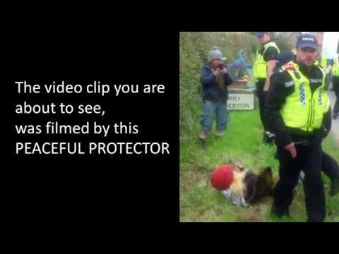 Peaceful Protector Assaulted by North Yorks Police Inspector