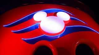 Disney Fantasy Pool Deck At Night