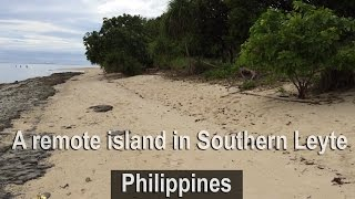 Remote island Southern Leyte Philippines