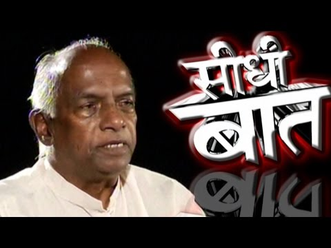 Seedhi Baat: With RSS ideologue K.N. Govindacharya