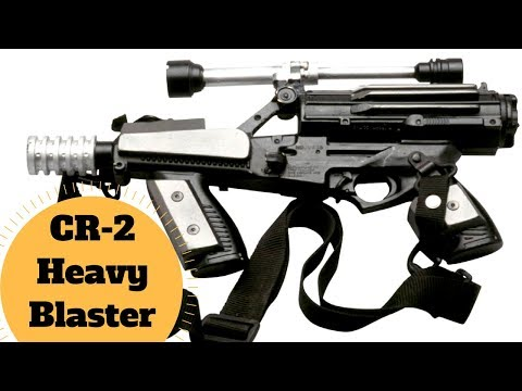 Naboo Royal Security Blaster - CR-2 Heavy Blaster Pistol - Star Wars Battlefront Blaster Lore