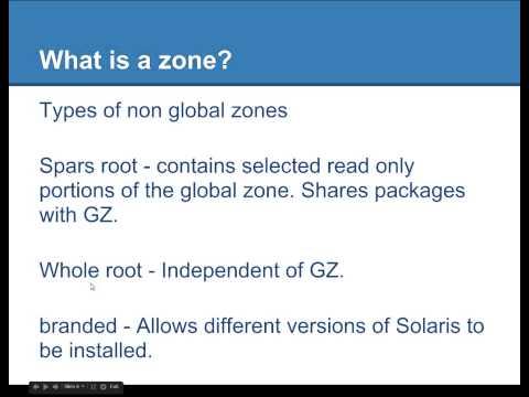 Solaris 10 Zones P1