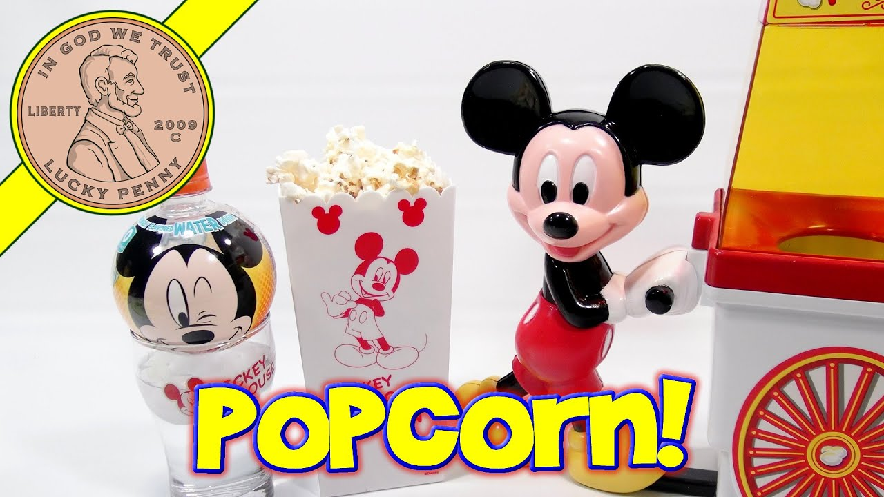 Disney Mickey Mouse Popcorn Popper & Christmas Gift Set. Time For ...
