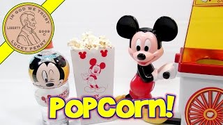 Disney Mickey Mouse Popcorn Popper & Christmas Gift Set.  Time For Some Tasty Treats!