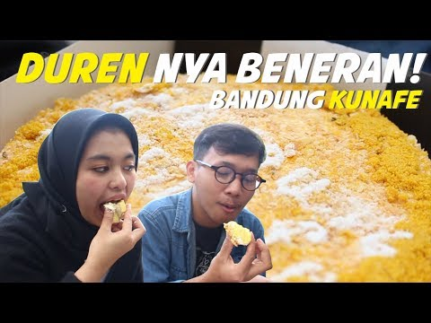 WOW KUE ARTIS RASA DUREN! | Pada Jajan Eps Bandung Kunafe (Ananda Omesh & Irfan Hakim)
