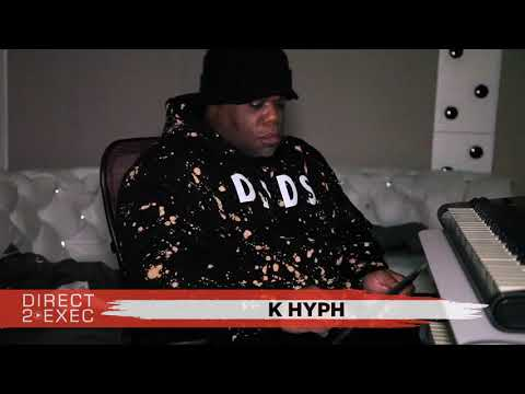 K Hyph (@K_Hyph) Performs at Direct 2 Exec NYC 1/14/18 - Atlantic Records