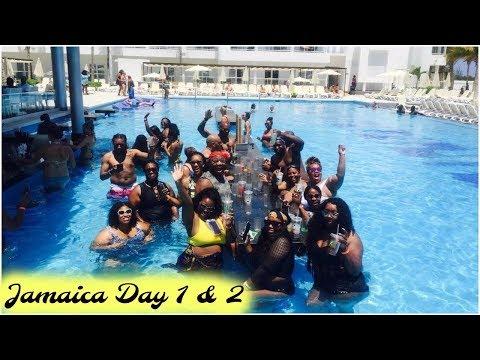 Jamaica Vacay: Day 1 & 2   Riu Reggae Montego Bay   Traveling w/ 47 ppl   Vlog