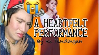 KZ TANDINGAN SINGS (MANDARIN) THE PAIN YOU NEVER KNEW • SINGERS 2018 EPISODE 6 • REACTION VIDEO