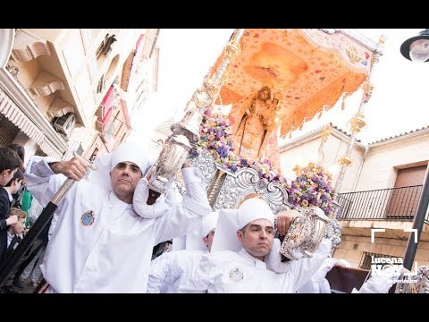 VÍDEO: Fiestas Aracelitanas 2019. Salida de la procesión desde San Mateo