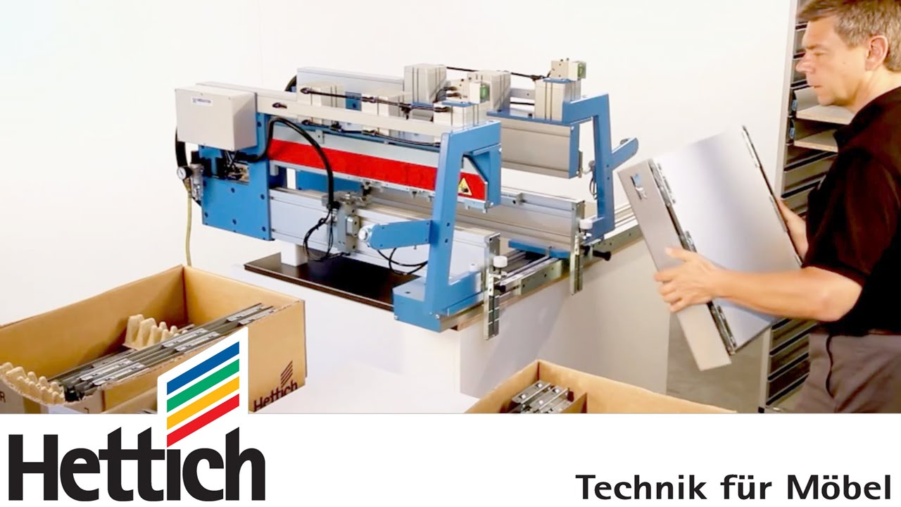 innofit 300: assembly aid for innotech drawers madehettich