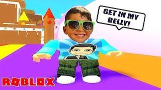 GET IN MY BELLY!!! ROBLOX SPIEL | FAMBAM GAMING | DAD UND SON PLAY ZEIT
