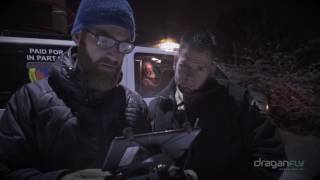 Draganfly Innovations & SureFire - Night Search and Rescue (SAR) with Drone Searchlight