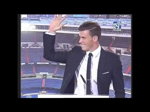 Garth Bale's first moments in Real Madrid