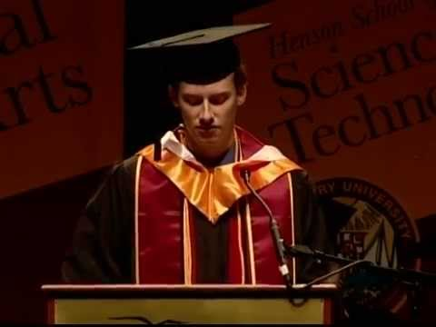 Salisbury University Morning Commencement Speech - David ...