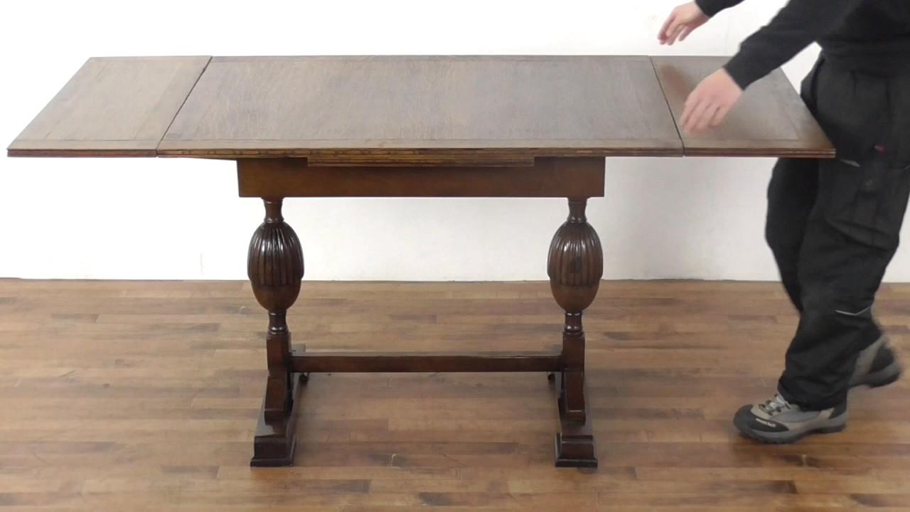 組み立て 天板再塗装済ドローリーフテーブル(商品id:53490) アンティーク