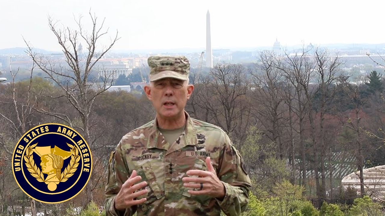 Lt. Gen. Charles D. Luckey, chief of Army Reserve and commanding general, U.S. Army Reserve Command, reinforces his previous guidance on maintaining proper standards and discipline to ensure we limit the spread of COVID-19. Updates include battle assemblies, pay for Army Reserve Soldiers, and how America's Army Reserve is providing support in the fight against the coronavirus.