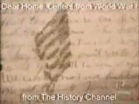 WWI Armistice -- Dear Home: Letters from WWI