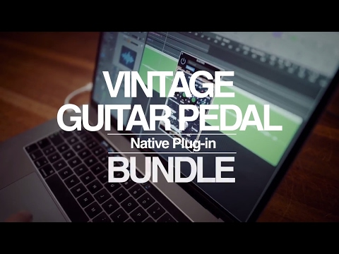 Vintage Guitar Pedal Native Plug-in Bundle (Official Product Video)