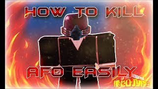 [NEW 125K CODES] HOW TO KILL AFO EASILY | Boku No Roblox: Remastered | ClarkNClaire