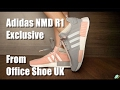 Adidas NMD R1 Pink and Grey Exclusive colour from Office Shoes UK_by MangoYellow