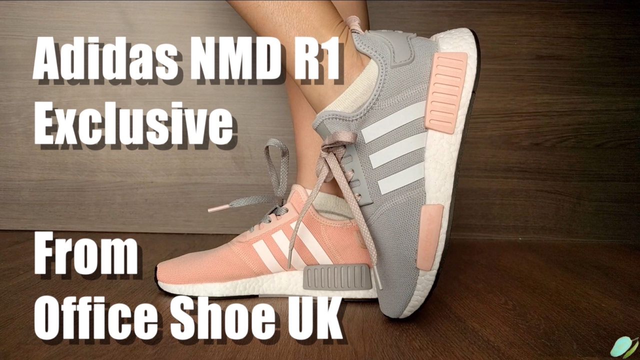 Want Discount NMD R1 Spring 2018 Black White Come Here