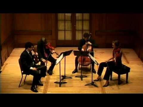 Vertigo String Quartet plays Dmitri Shostakovich's String Quartet No. 12