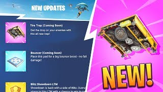 *NEW* CONFIRMED TRAPS, WEAPONS AND MORE ITEMS COMING SOON! (LEAKED) - Fortnite: Battle Royale