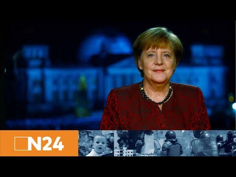 Neujahrsansprache: Angela Merkel ruft Deutsche zu mehr Zusammenhalt auf