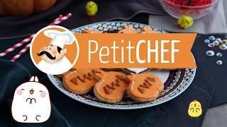 Çocuklar için Molang X Petit Chef - MOLANG ile PİŞİRME - Cadılar Bayramı Kurabiye | Karikatür
