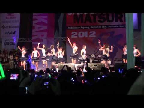 JKT48 - Ponytail to shushu (JAK-JAPAN MATSURI 2012) hd