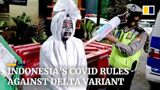 Indonesia Imposes New Coronavirus Rules As Delta Variant Sweeps Country